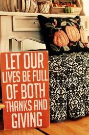 Fall Decoration Sign
